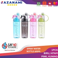 SPRAY WATER BOTTLE BOTOL MINUM 600ML BOTOL MINUM SEMPROT