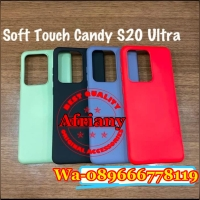 SAMSUNG GALAXY S20 ULTRA CASE SPOTLITE TOUCH CANDY SOFT SHELL CASING