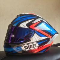Helm Shoei X14 X-14 Xfourteen Bradley Smith Not Marquez