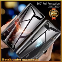 ASUS ROG PHONE 2 II ZS660KL ANTI GORES FRONT+BACK HYDROGEL CLEAR COVER