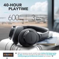 Earphone Bluetooth Anker Soundcore Life Q20 Black Iteration -