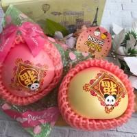 I-bloom jumbo peach LICENSED SQUISHY
