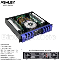 Power amplifier ashley ev 3000 original