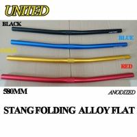 Handle Bar Folding Raze Flat Bar 580MM Alloy