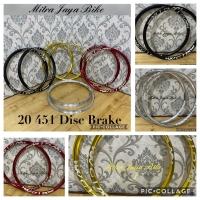 Rims Velg MXL 20 x 1 3.8 Plus 451 Disc Brake 20H - 28H Taiwan