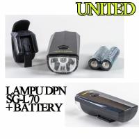 Lampu Sepeda Depan United SG-L70