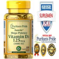 OBAT OTOT VITAMIN D3 5000 mg C Kalsium Calcium E Biotin Collagen IMPOR