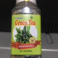PELANGSING GREEN TEA Vitamin C D3 E Kalsium Glucosamine Omega 3 LOKAL