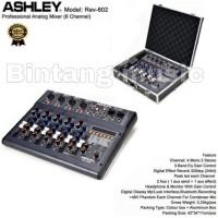 Mixer Ashley REV 602 Original Bluetooth 6 Channel Ashley REV602