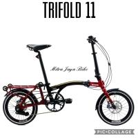 Sepeda Lipat United Trifold 11 Reflex Hydrolic