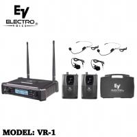 Mic wireless electro voice vr1 original mic clip on electro voice vr1