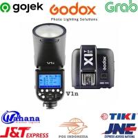 Godox v1n TLL plus tigger X1T N for nikon