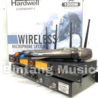 Mic wireless hardwell legendary 1 original produk