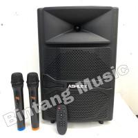 Speaker portable ashley RQ12 original 12 inch