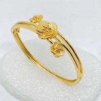 Gelang tangan wanita //gelang bangle //gelang//perhiasan / lapis emas