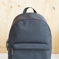 Tas Mk original/Michael kors cooper backpack sign black