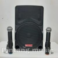 Portable Wireless Meeting Baretone MAX 10C 2bh mic pegang Wireless