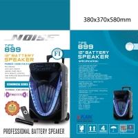 Speaker Portable Wireless Noise 899 FI Original 12 inch Bluetooth