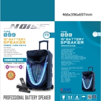 Speaker Portable Wireless Noise 899 FII Original 15 inch Bluetooth