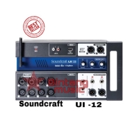Digital Mixer Soundcraft Ui 12 For Android - IOS Features