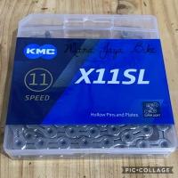 Rantai Chain KMC X11SL 11Speed Super Light Silver