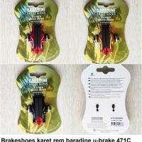 Karet Rem Balap Brake Shoes Road Bike Baradine