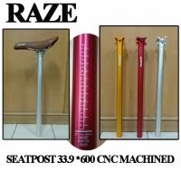 Seatpost Lipat Raze 33.9 x 600MM By United