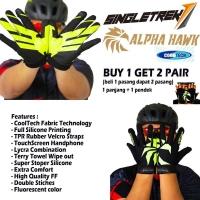 Sarung Tangan Gloves SingleTrek Alpha Hawk With Cooltech