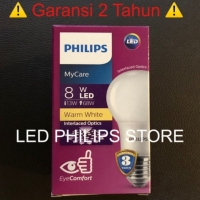 Jual Lampu Bohlam Led Philips 9 Watt Kuning Warm White 9w 9 W 9watt Jakarta Utara Led Philips Store Tokopedia