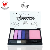 Mireya Eyeconic 5 Eyeshadow And 1 Blush On - TIGA thumbnail