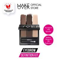 MAKE OVER Eye Brow Definition Kit - 01 Dark Brown thumbnail