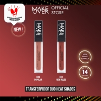 Make Over Transferproof Matte Lip Cream Duo Heat Shades - B09+B11 thumbnail