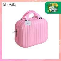 Marvilo Tas Koper Makeup Kosmetik Tahan Air 12 Inchi Tahan Air - Merah Muda thumbnail