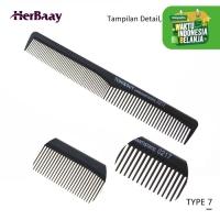 Sisir Styling Professional Salon Untuk Semua Jenis Rambut - 7 thumbnail
