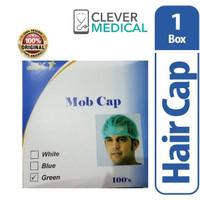 LIFE RESOURCES MOB CAP GREEN 100 S PELINDUNG KEPALA thumbnail