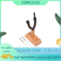 Ssrroo Flanger FH-003 Durable Wooden Base Violin Hanger Wall Mount