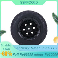 Ssrroo 2Pcs/Set Rubber Tyre Tires with Hubs Wheel for FY-CL02 1:12