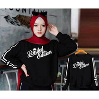 PROMO SWEATER WANITA LIMITED EDITION / SWEATER HIJAB FASHION MURAH