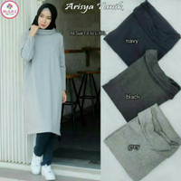 PROMO Tunik Arisya Turtleneck Jumbo MURAH