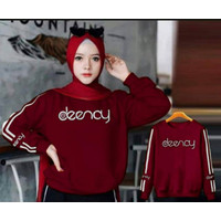 PROMO SWEATER WANITA DEENAY / SWEATER HIJAB FASHION MURAH