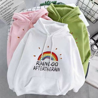 PROMO SWEATER RAINBOW AFTERTHERAIN | HODDIE SWEATER WANITA RAINBOW
