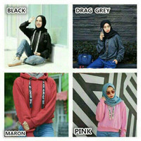 PROMO Sweater Sella/ Hoddie tali tulis bhn babytery fit to L MURAH