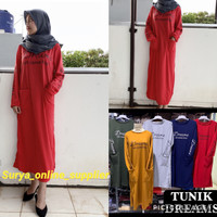 PROMO TUNIK WANITA DREAM'S CAN COME TRUE (5 WARNA) | TUNIK FASHION
