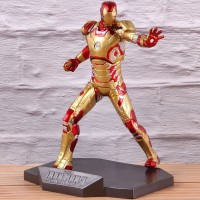 Miniatur Action Figure Iron Man 3 Mark xlii mk42 Mark 42 untuk Koleks