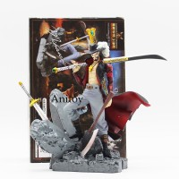 Action Figure Anime One Piece Dracule Mihawk Bahan PVC