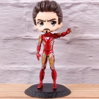 Action Figure Anime Iron Man Bahan PVC