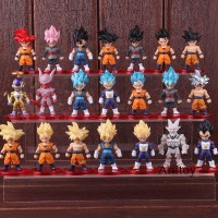21Pcs Set Action Figure Goku Dragon Ball freeza freeza Goku Gokou