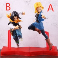 Action Figure Dragon Ball Android Battle Android No.18 no.17