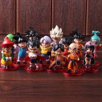 13Pcs Set Action Figure Dragon Ball Z Goku gohan Came Dragonball