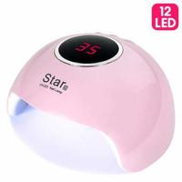 ROHWXY Pengering Kutek Kuku UV LED Nail Dryer 36W - Star6 thumbnail
